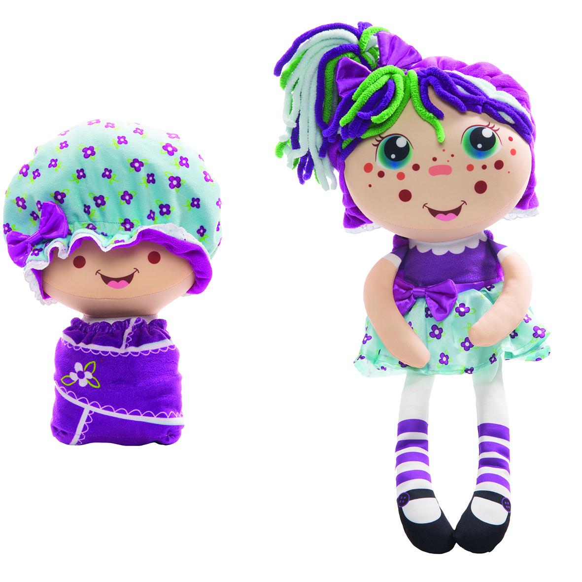 Мягкая игрушка 1toy Девчушка-вывернушка Варюшка мягкая игрушка девчушка вывернушка ксюшка 2в1 23 38 см