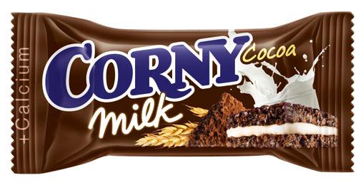 Батончик Corny Schwartau Corny Milk злаковый с молоком и какао 30 г corny milk cocoa батончик злаковый c молоком и какао 30 г
