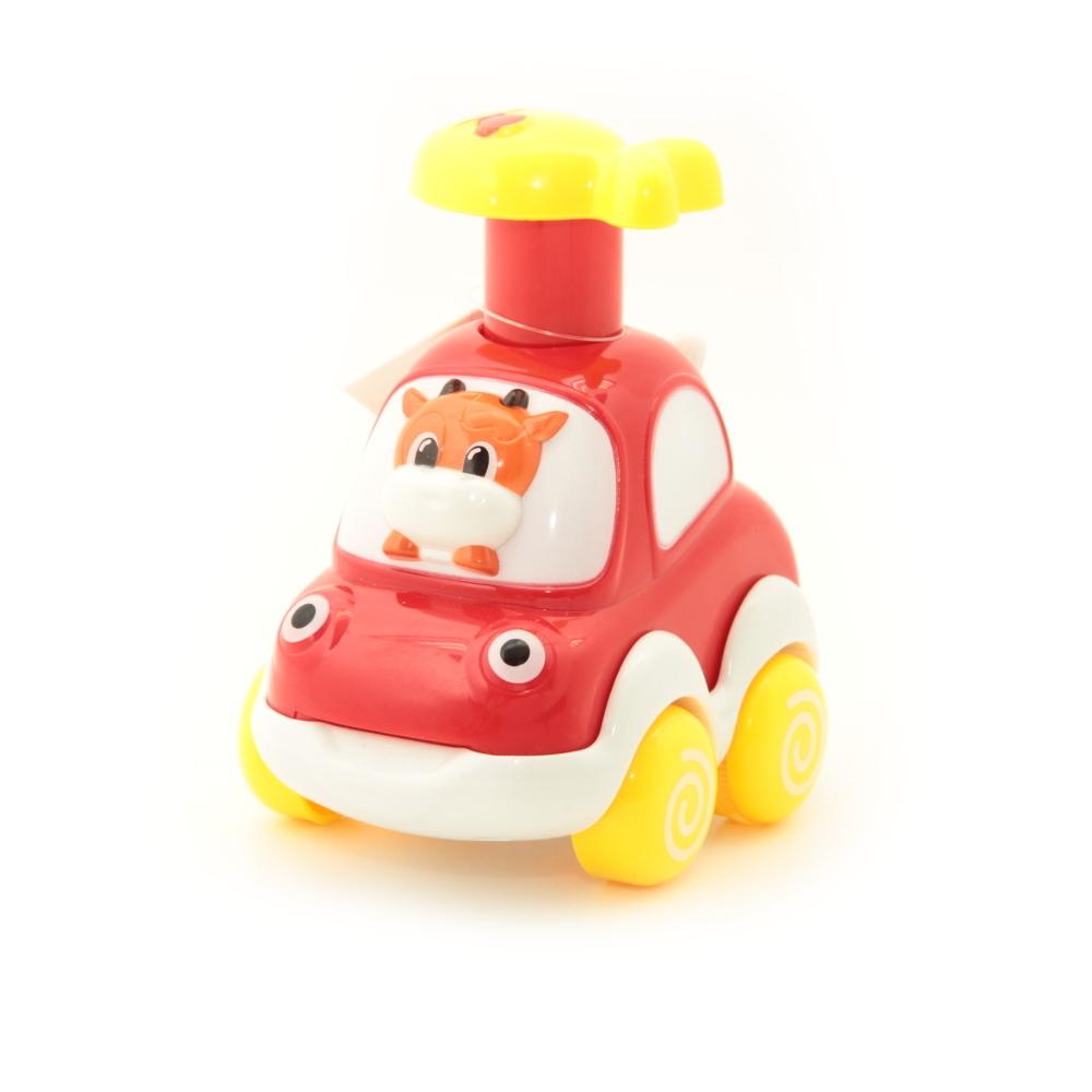 Развивающие игрушки BALBI Машинка инерционная Balbi PT-004 «Веселые Зверята» в асс. машинки balbi веселые зверята