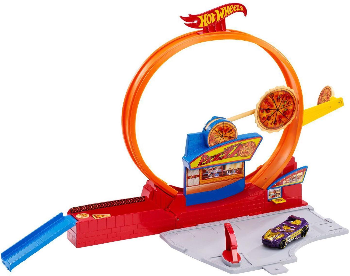 Игровой набор Mattel Автомойка/Гараж игровой набор faro макси гараж 2 в 1 709