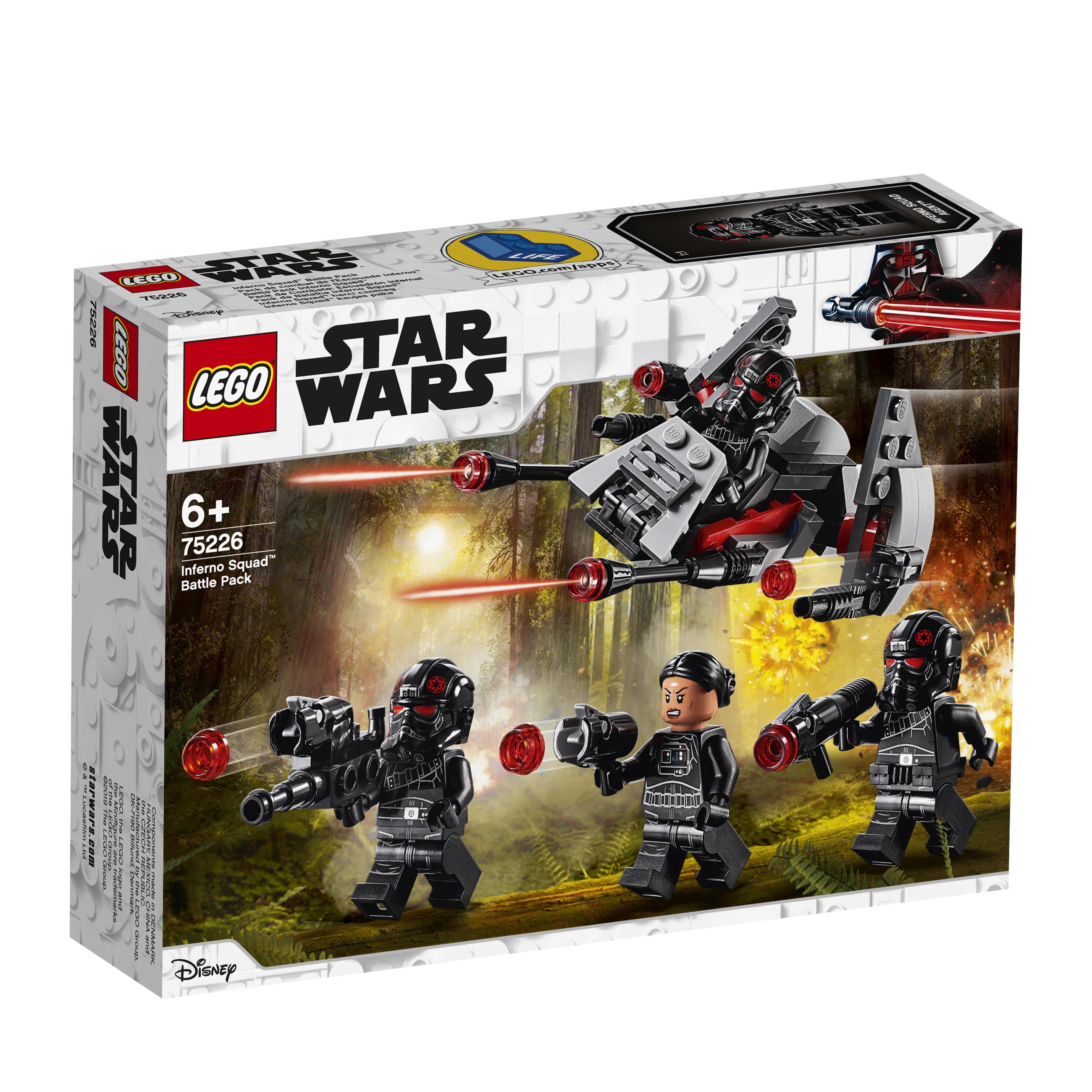 Конструктор LEGO Star Wars 75226 Боевой набор отряда «Инферно» конструктор lego star wars 75132 боевой набор первого ордена
