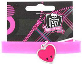 Украшения Monster High Браслет Monster High «Draculaura» силиконовый с подвеской брелок monster high череп