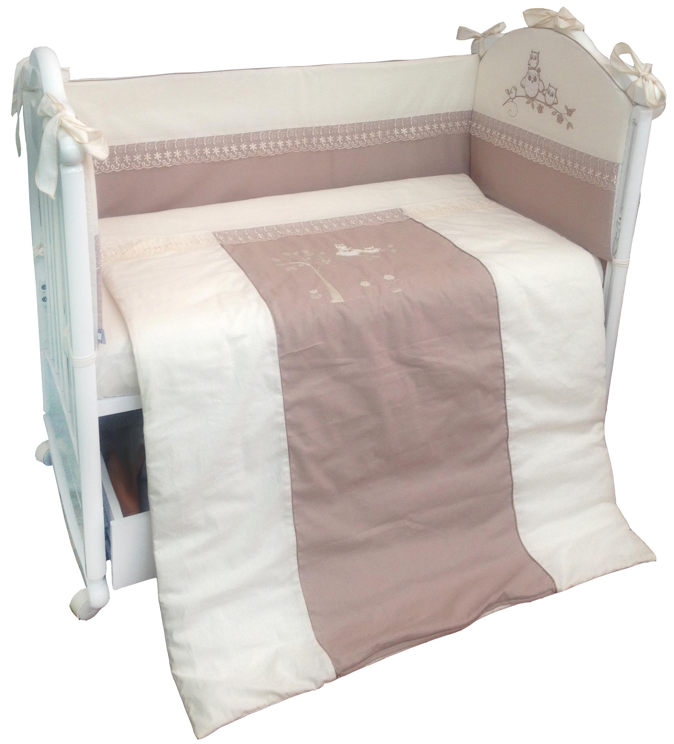 цена Комплект в кроватку L'Abeille Amore онлайн в 2017 году