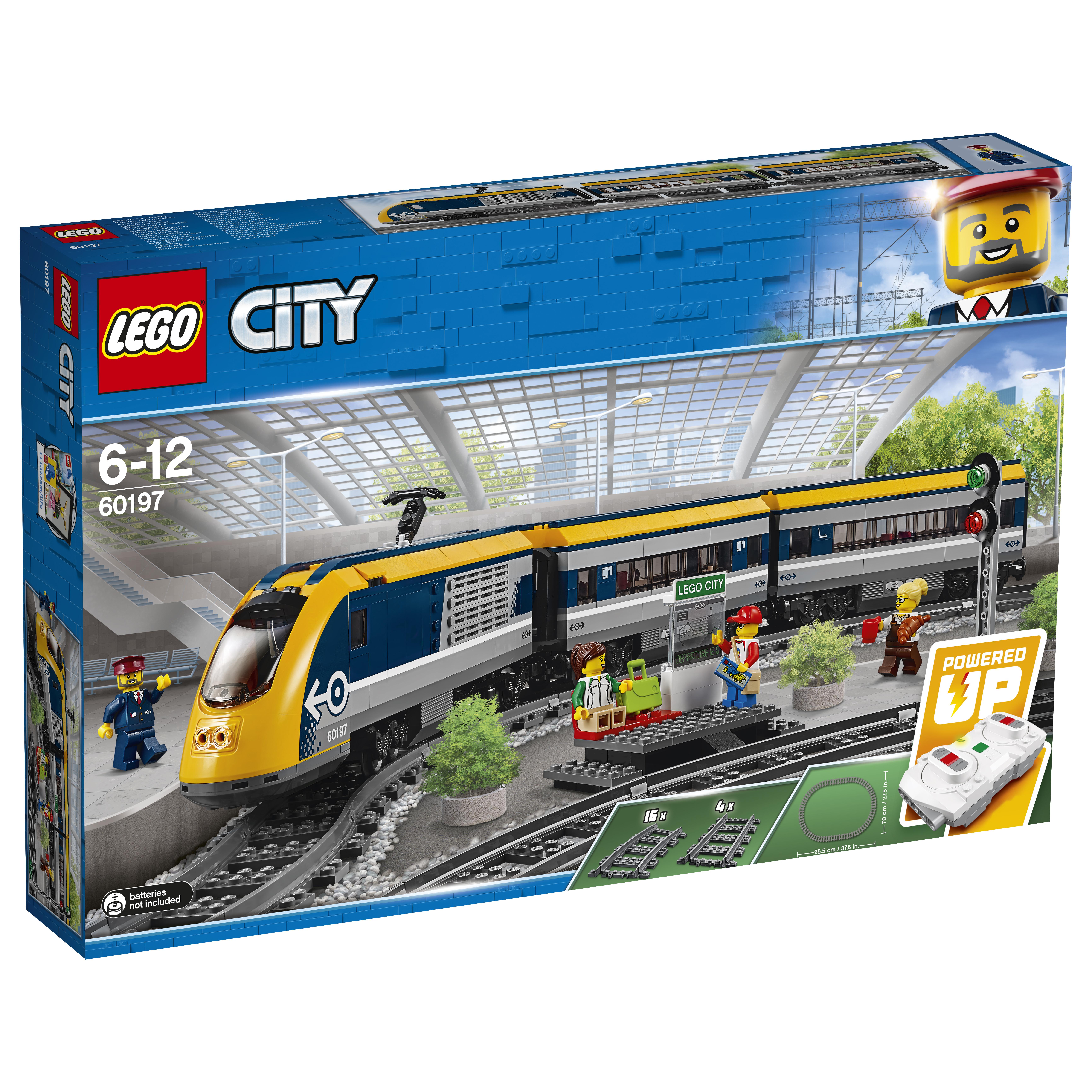 все цены на LEGO LEGO Конструктор LEGO City Trains 60197 «Пассажирский поезд» онлайн