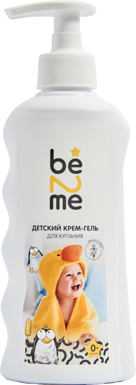 Крем-гель для купания Be2Me Мягкость масел с рождения 250 мл бальзамический крем papadimitriou с апельсином и лимоном 250 мл