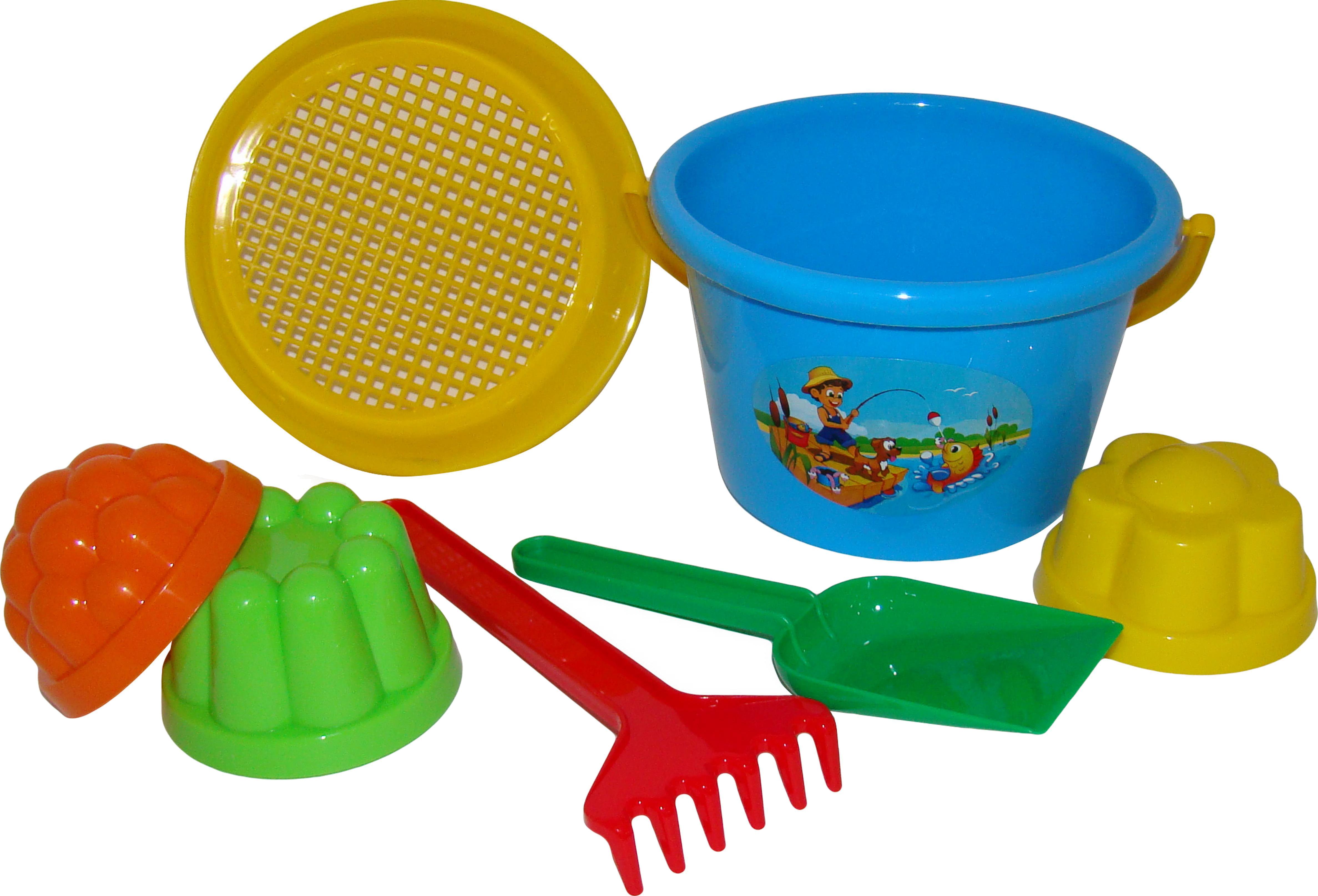 Игрушки для песка POLESIE Полесье №11 набор для игры с песком полесье n262