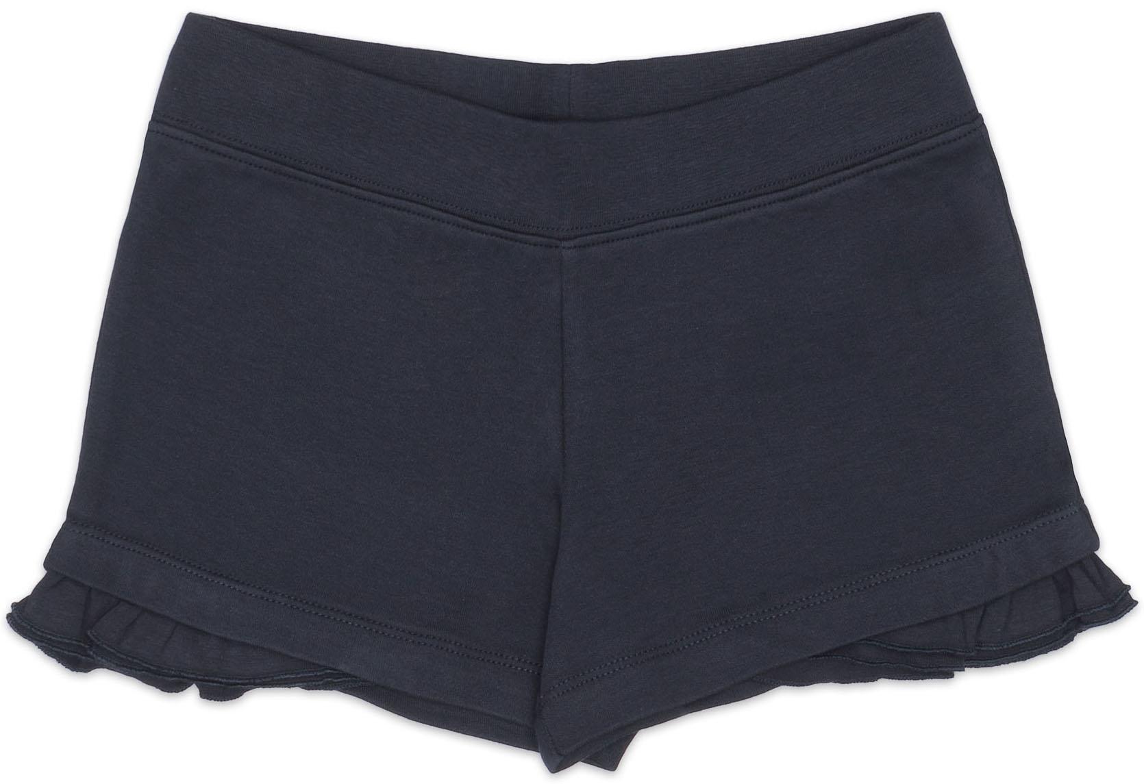Шорты Barkito Шорты трикотажные для девочки Barkito, Бон Вояж, синие юбка трикотажная barkito бон вояж синяя