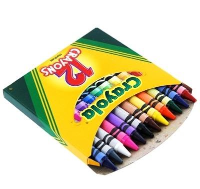 Ручки и карандаши Crayola восковые 12шт разноцветные пифагор восковые карандаши 24 цвета