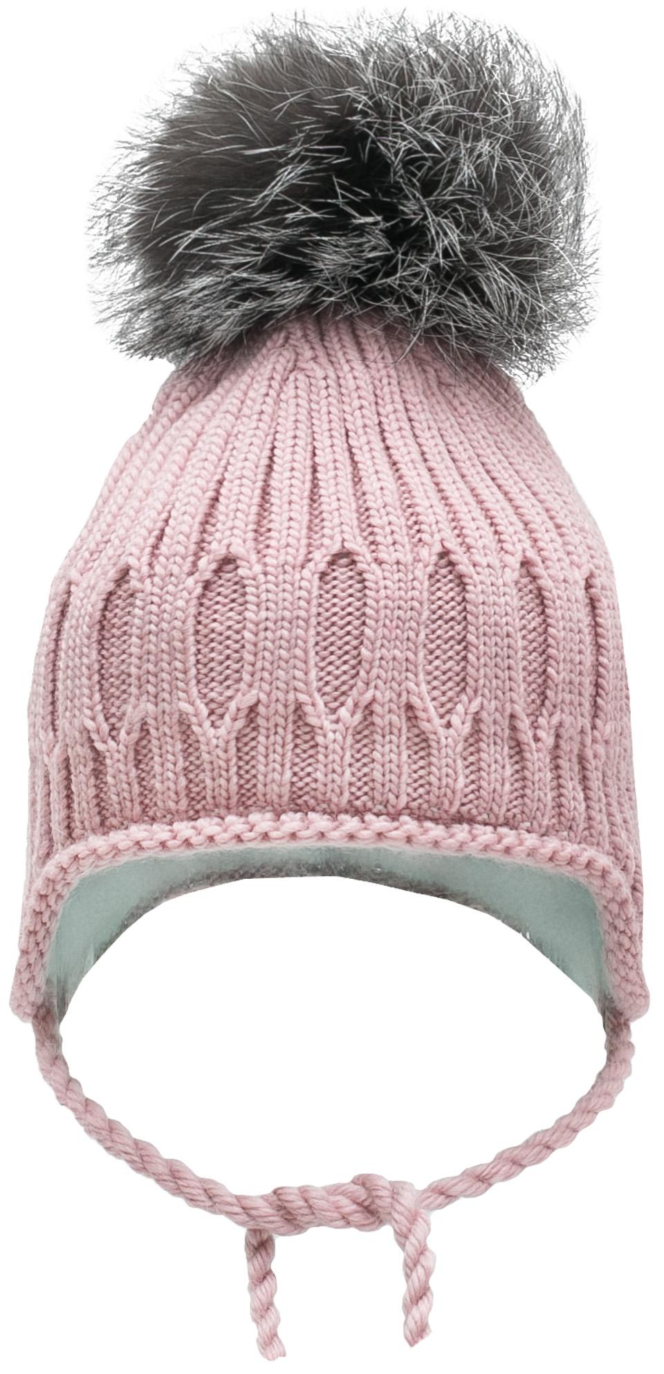 Купить Головные уборы, Шапка детская для девочки Barkito, светло - розовый, Россия, светло-розовый, Женский