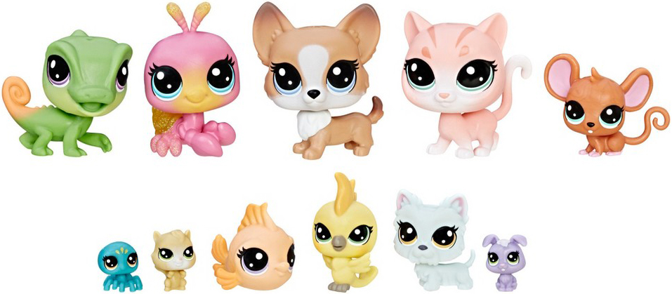 Littlest Pet Shop LITTLEST PET SHOP Игровой набор Littlest Pet Shop «Набор петов» академия групп вышивка лентами littlest pet shop