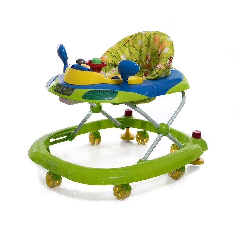 Ходунки и прыгунки Baby Care Ходунки Baby Care «Prix» зеленые ходунки baby care pilot white 18