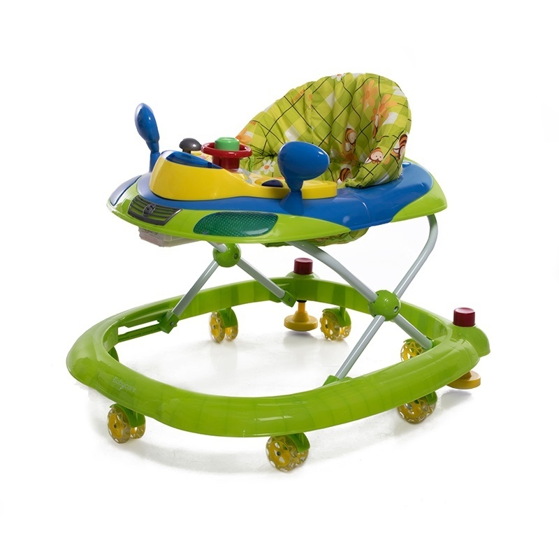 Ходунки и прыгунки Baby Care Prix зеленый baby care baby care детские ходунки prix желтый