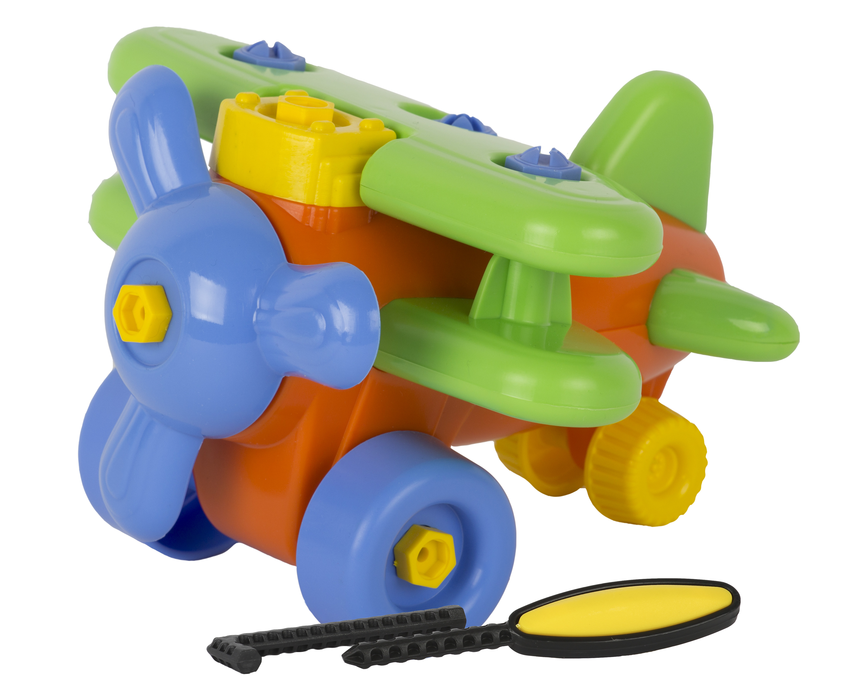 Конструктор Спектр «Самолет» 23 предметов игрушки для песка спектр спектр малыш