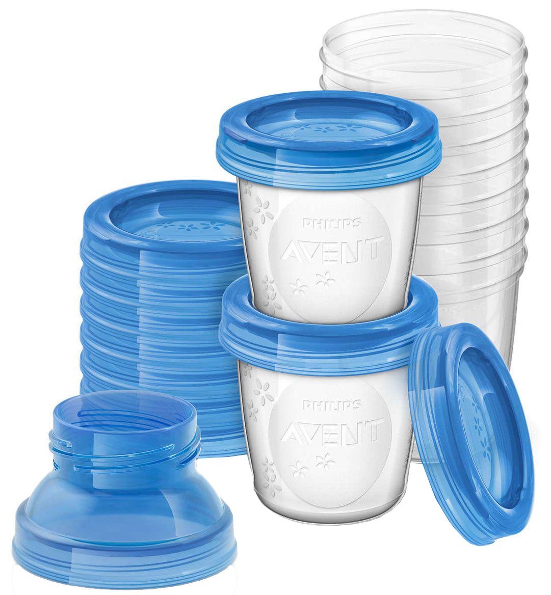 Контейнеры Philips AVENT SCF618/10 контейнеры для хранения грудного молока 4х125мл avent бутылочки для кормления стандарт