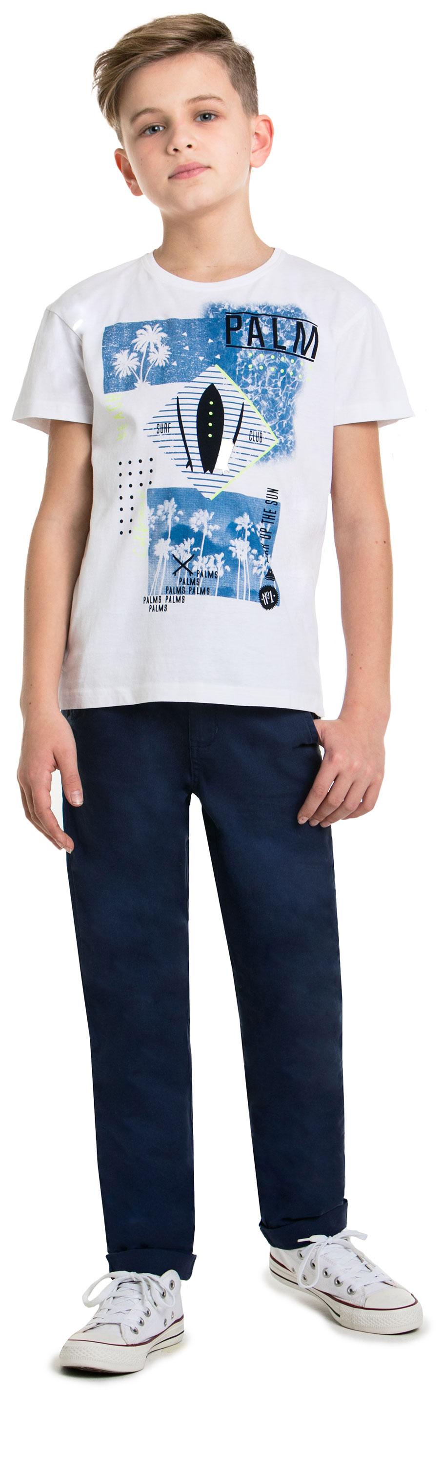 Футболка с коротким рукавом для мальчика Barkito Тропическая жара шорты модель бермуды для мальчика barkito тропическая жара бирюзовые