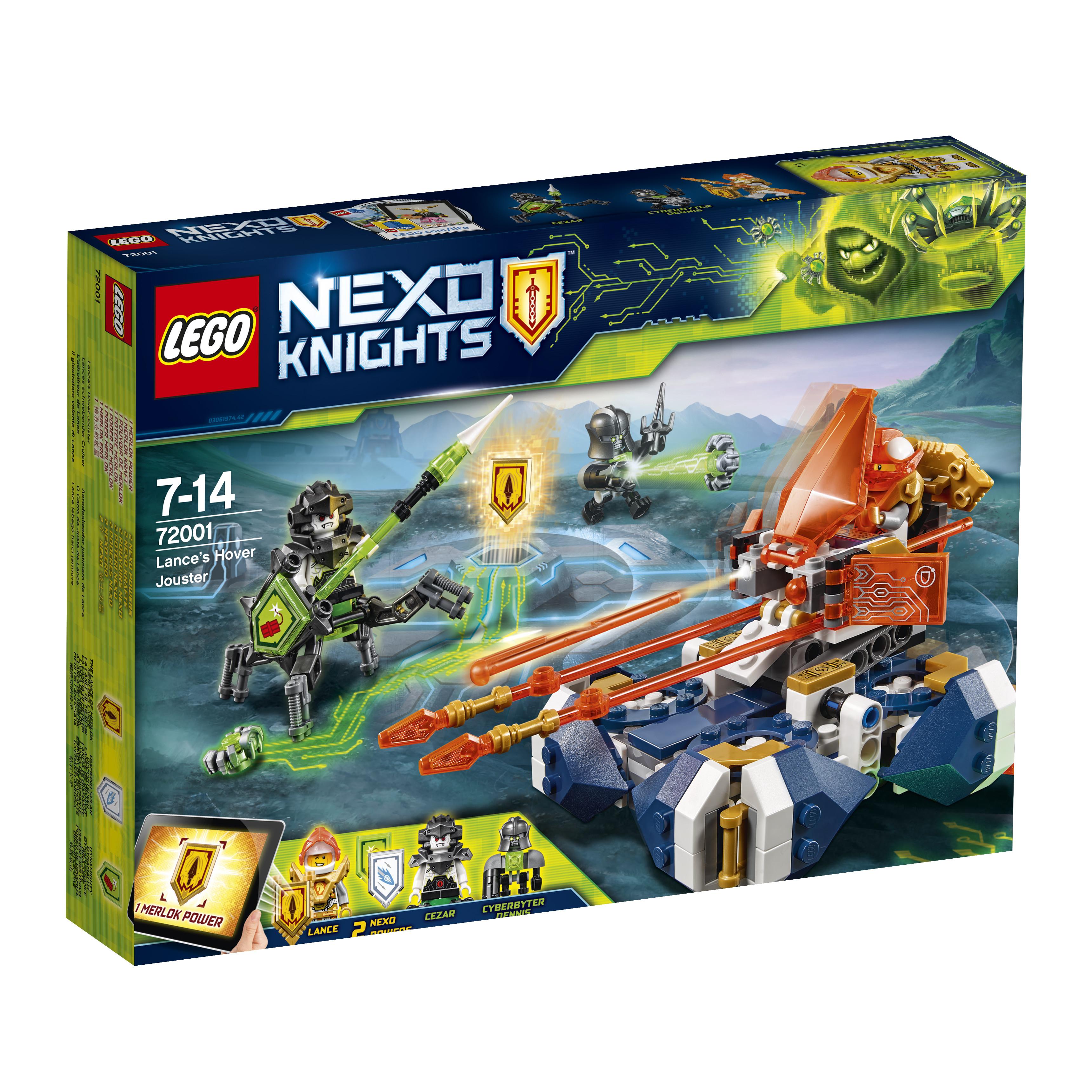 LEGO LEGO Конструктор LEGO Nexo Knights 72001 Летающая турнирная машина Ланса конструктор lego ветеринарная машина для лошадок 41125