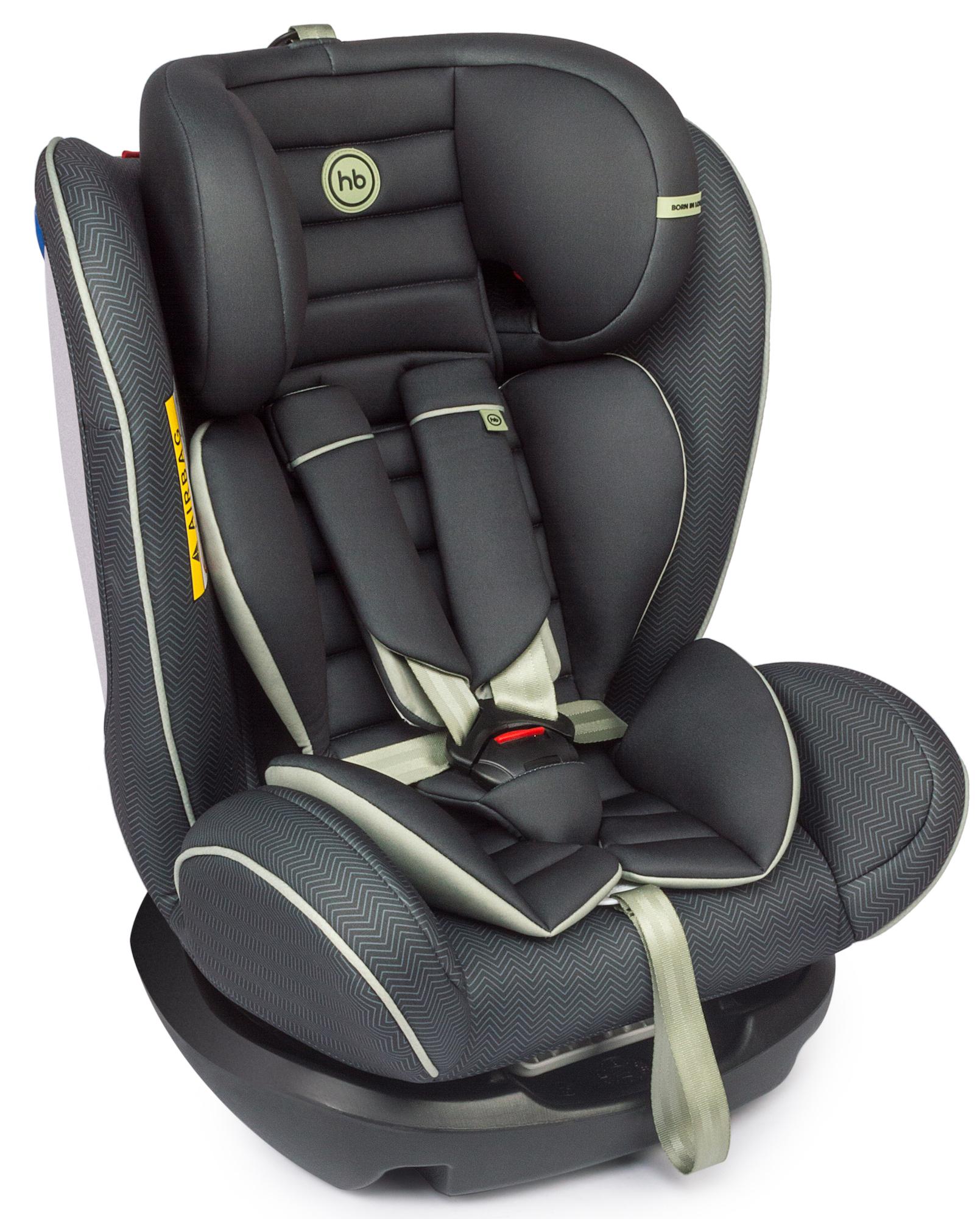 Автокресло Happy baby Spector 0-36 кг. черный