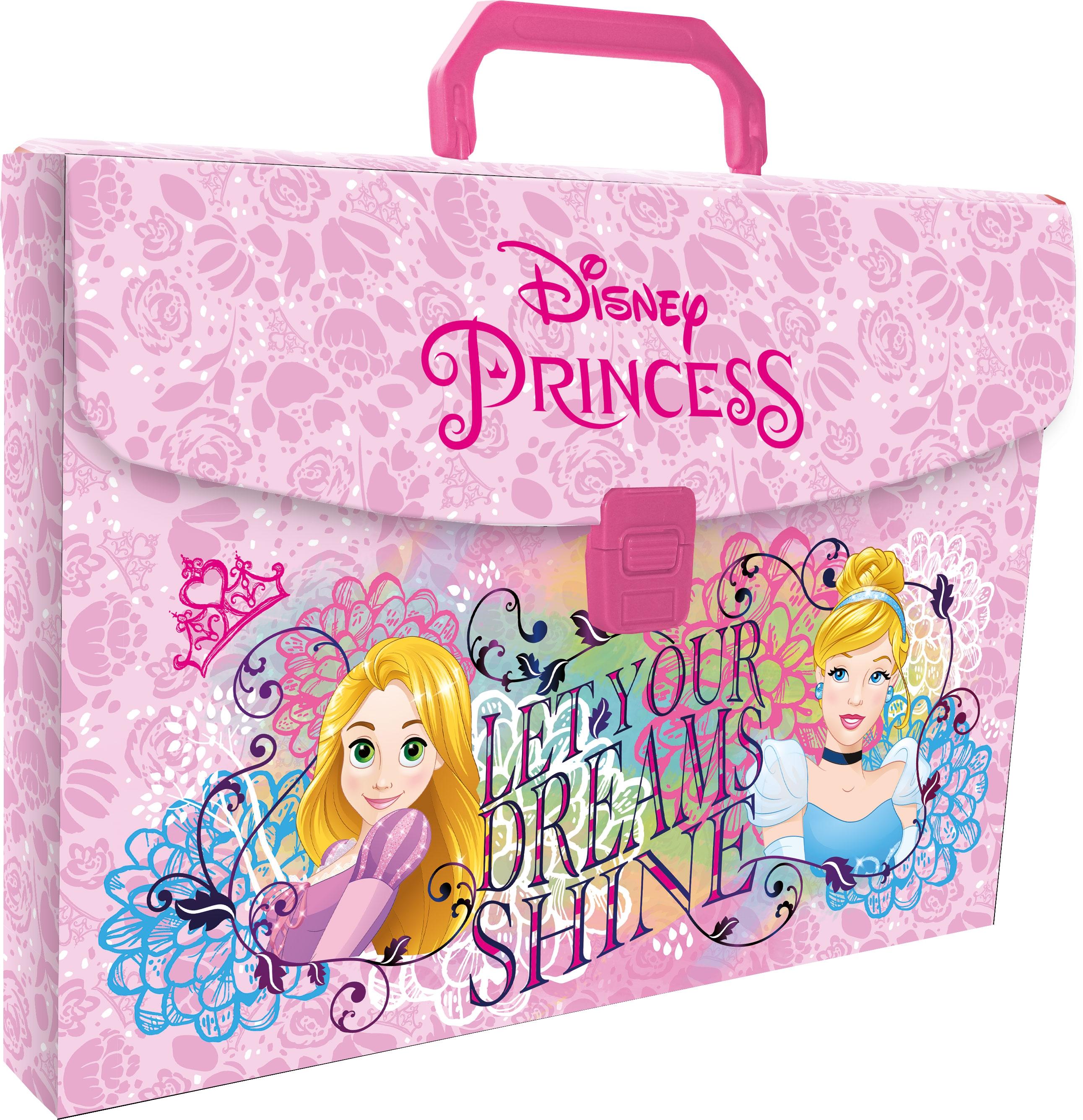 Папка-портфель с ручкой Princess Princess академия групп папка портфель а4 с ручкой тачки