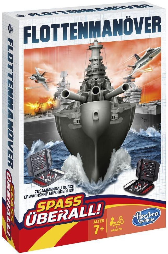 все цены на Игры в дорогу OTHER GAMES Дорожная игра Hasbro «Морской бой» онлайн