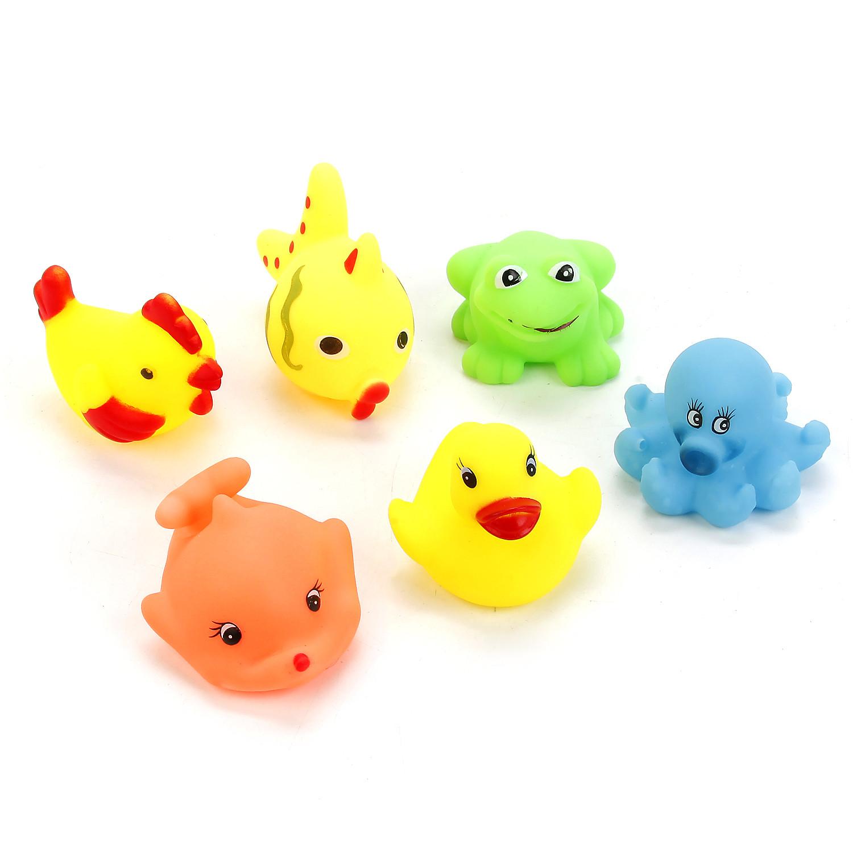 Игрушки для ванны Играем вместе Набор игрушек для ванны Играем вместе зонт играем вместе совушки um45 sov
