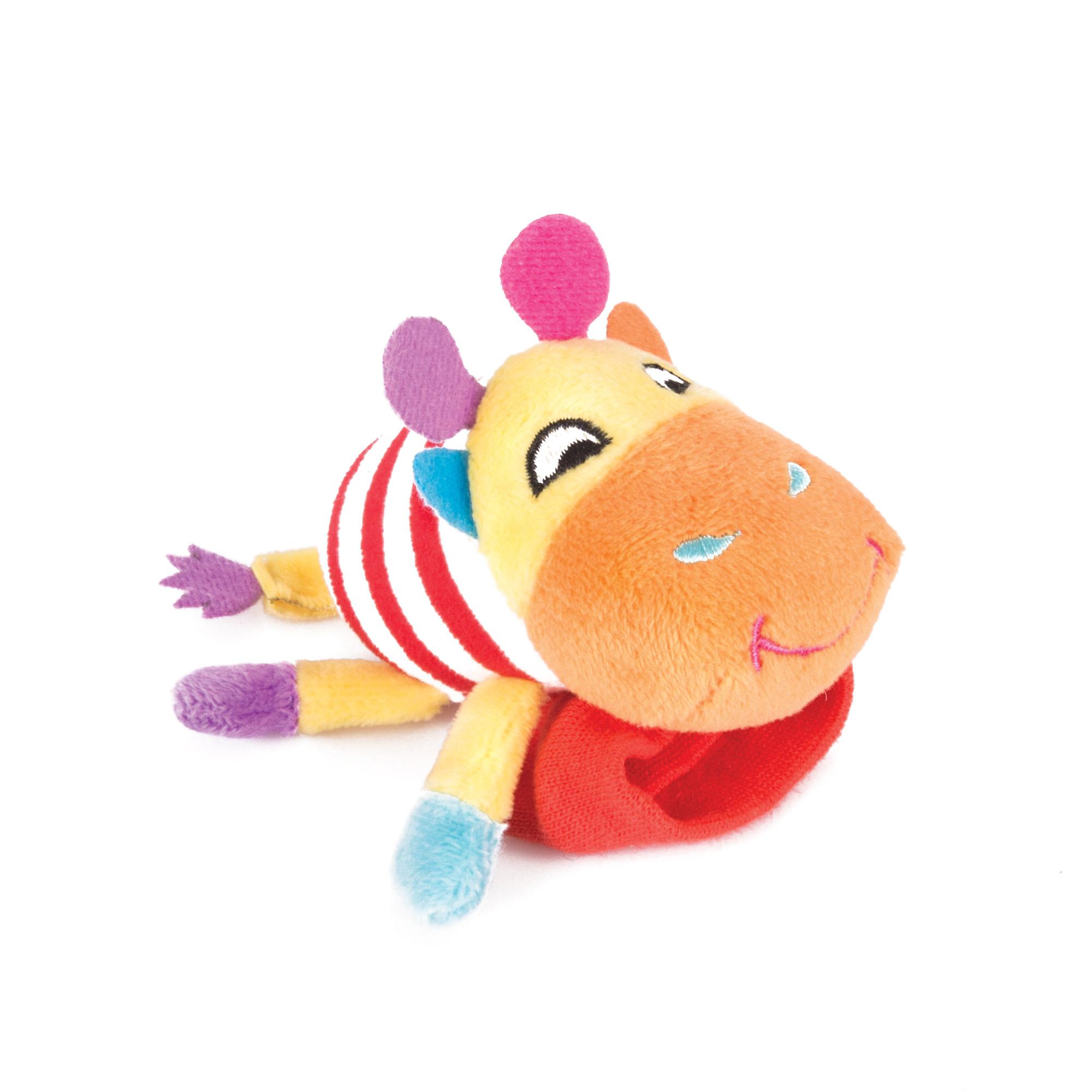 цена на Игрушка-погремушка Happy Snail Жираф Спот