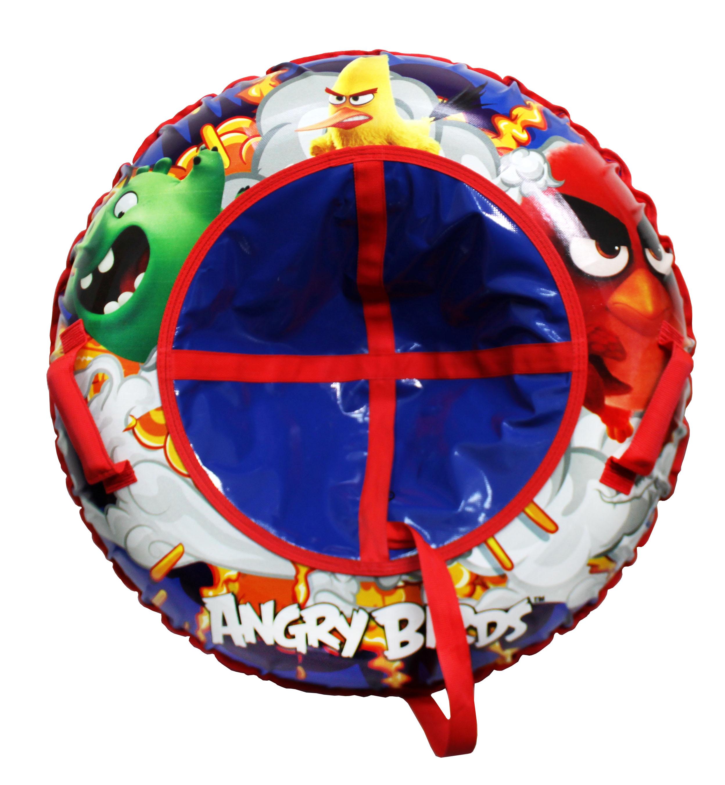 Купить Тюбинги, Тюбинг 1Toy «Angry Birds» 85 см, Россия, синий