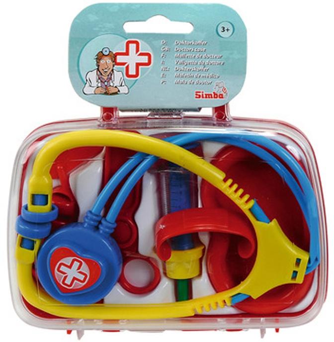 Игровые наборы Профессия simba Игровой набор доктора Simba 5 пр. simba simba набор доктора в пластиковом чемодане