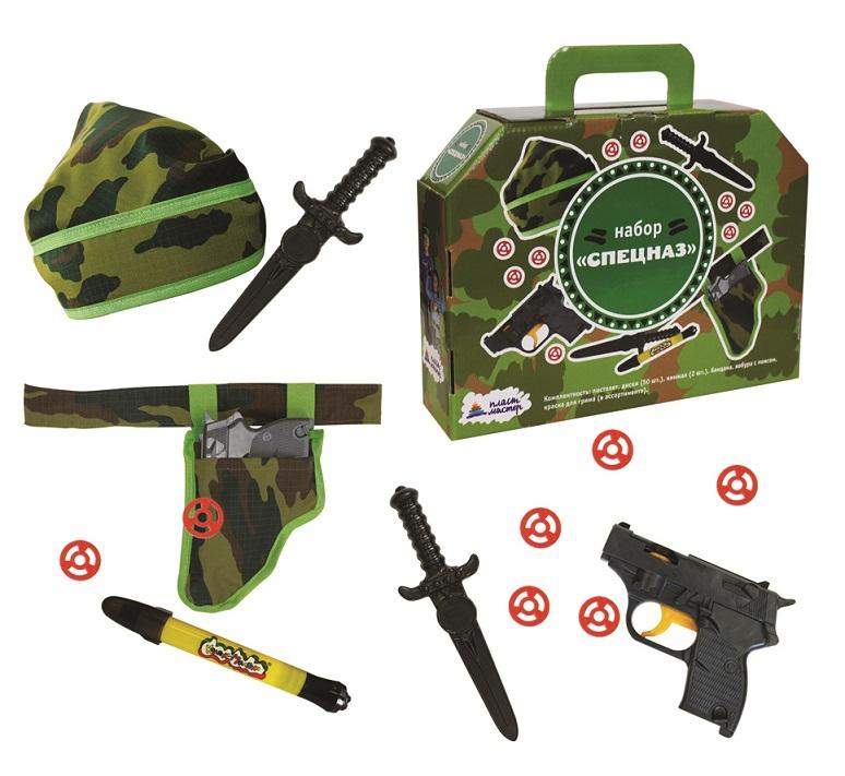 Игра развивающая Пластмастер Спецназ игровой набор пластмастер 2 пистолета с шарами