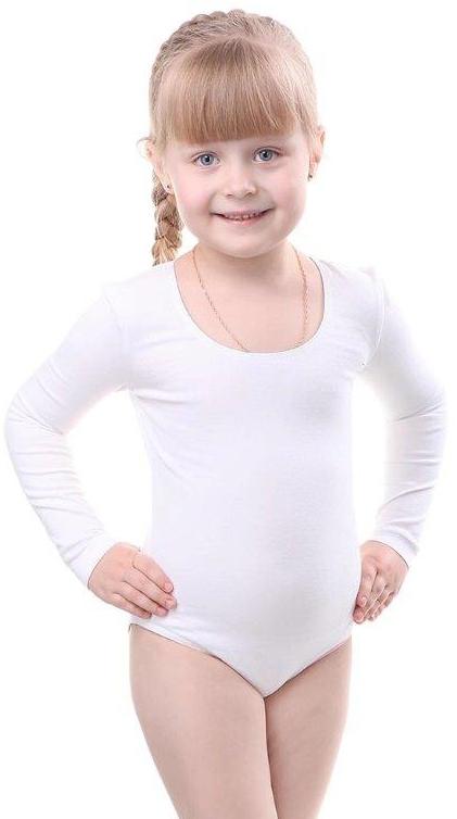 Купальники и плавки Свiтанак Комбидрес (гимнастический купальник) для девочки Свiтанак, белый свiтанак свiтанак комплект одежды брючки и туника голубой