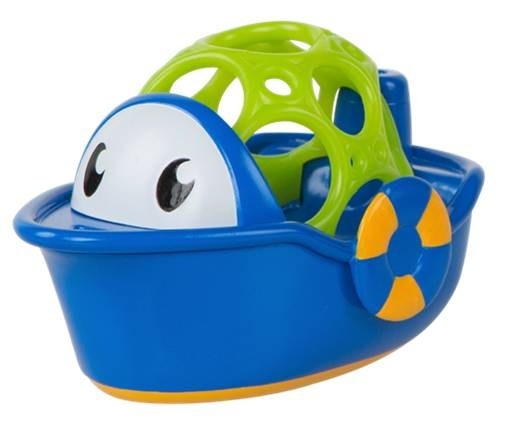 Игрушка для ванны Oball Лодочка игрушка oball red 10556 1