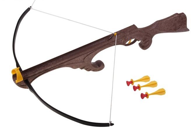 Игрушечное оружие Bauer Викинг 099 в пакете с тремя стрелами на присосках цена