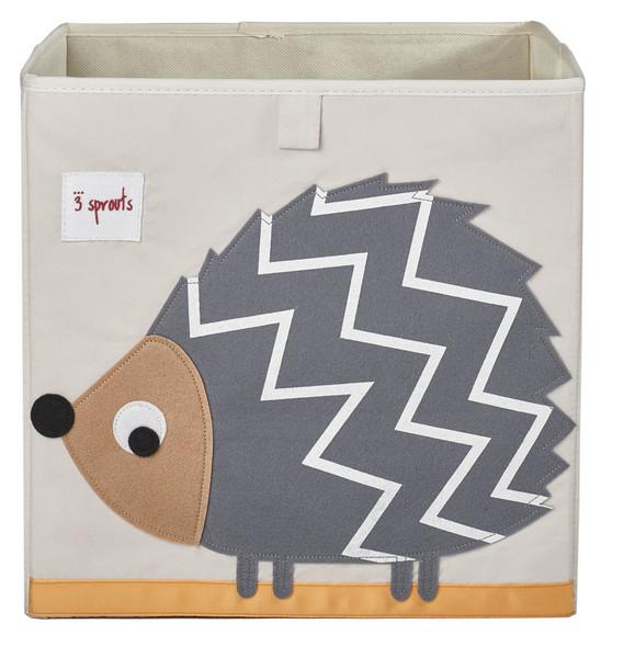 Ящики и корзины для игрушек 3 Sprouts «Grey HedgeHog» ящики и корзины для игрушек 3 sprouts orange orangutan