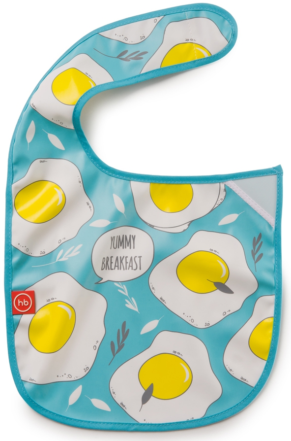Нагрудник Happy baby на липучке Waterproof baby bib make my day нагрудник baby bib peter pan collar