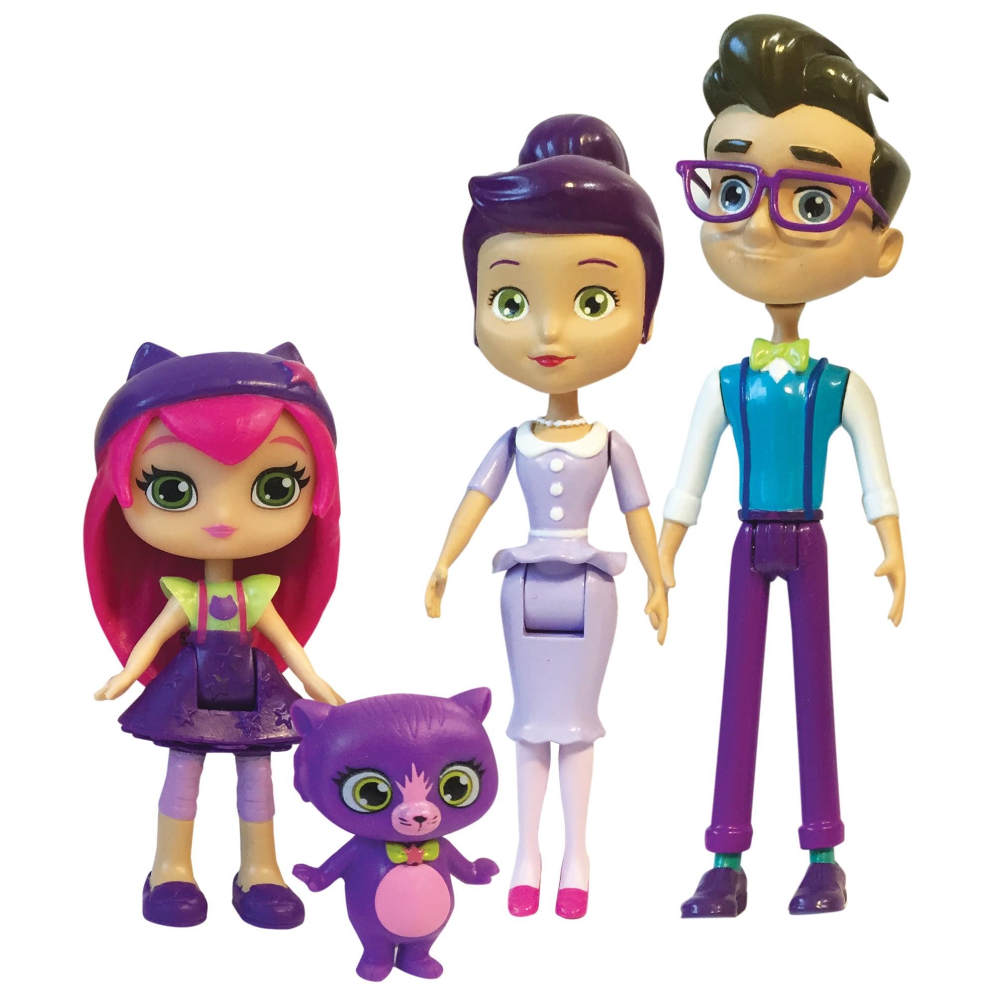 Фигурки героев мультфильмов Little Charmers Семья Хэйзл игрушка little charmers кукла