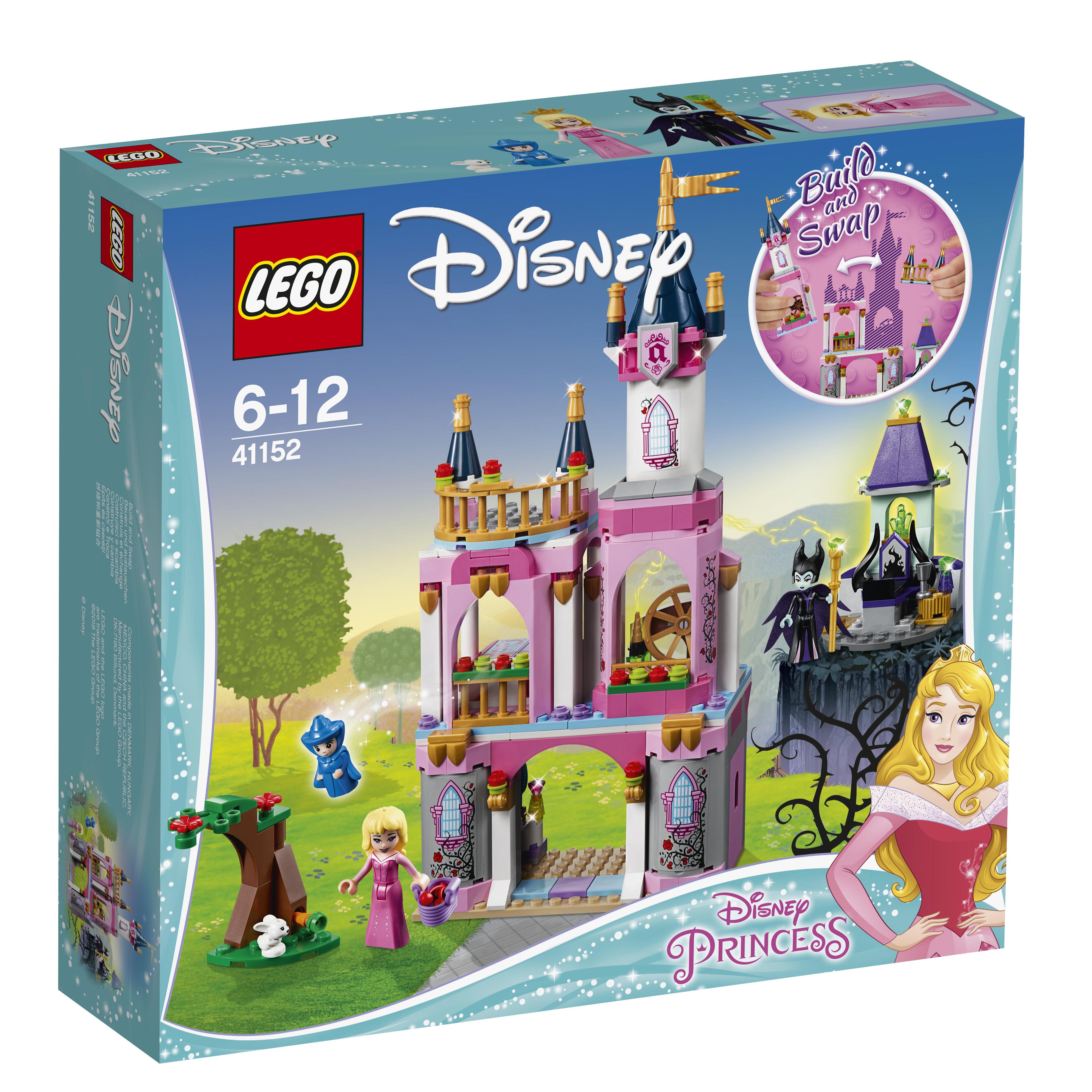 LEGO LEGO Конструктор LEGO Disney Princess 41152 Сказочный замок Спящей Красавицы конструктор lego disney princess королевские питомцы жемчужинка 41069