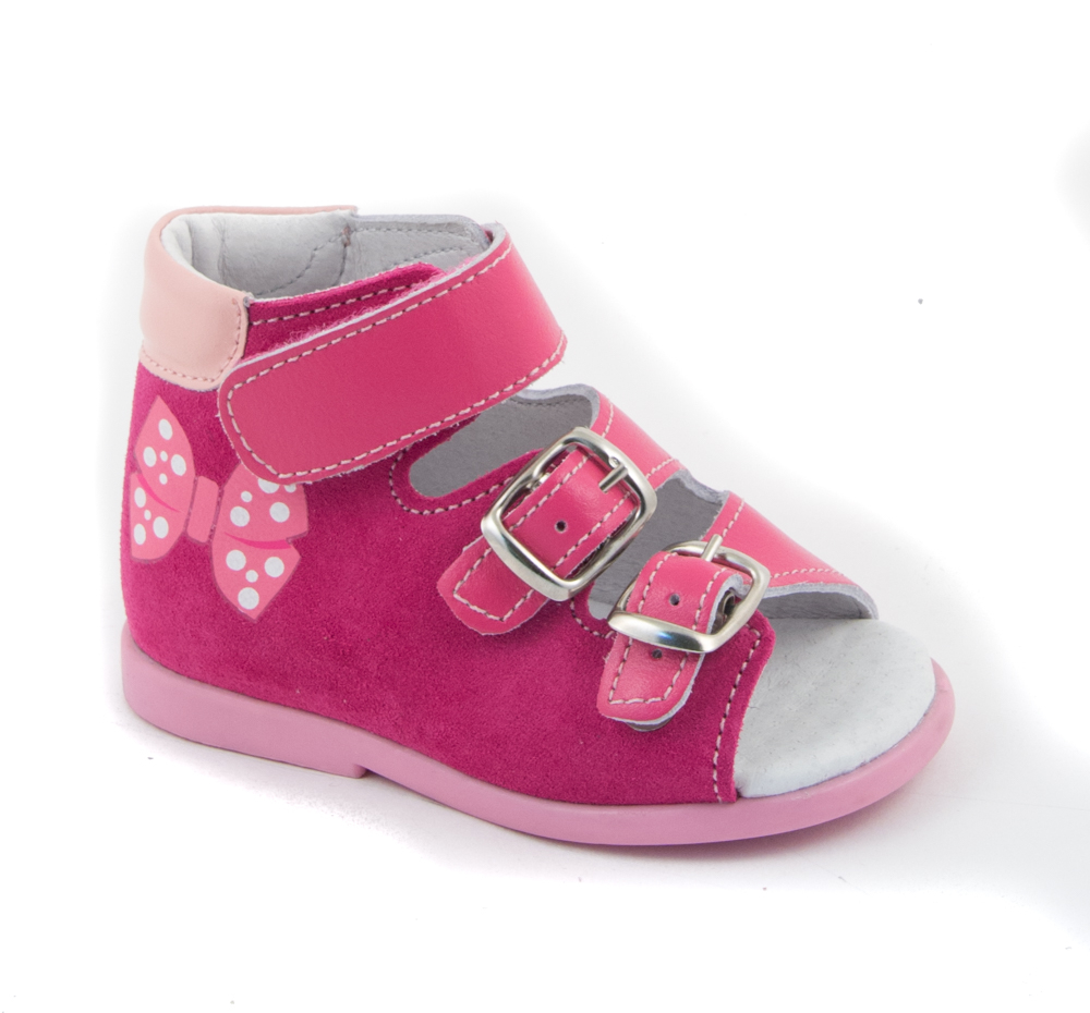 Фото - Летние ясельные туфли для девочки Детский Скороход розовый босоножки детский скороход туфли ясельные для мальчика детский скороход синие
