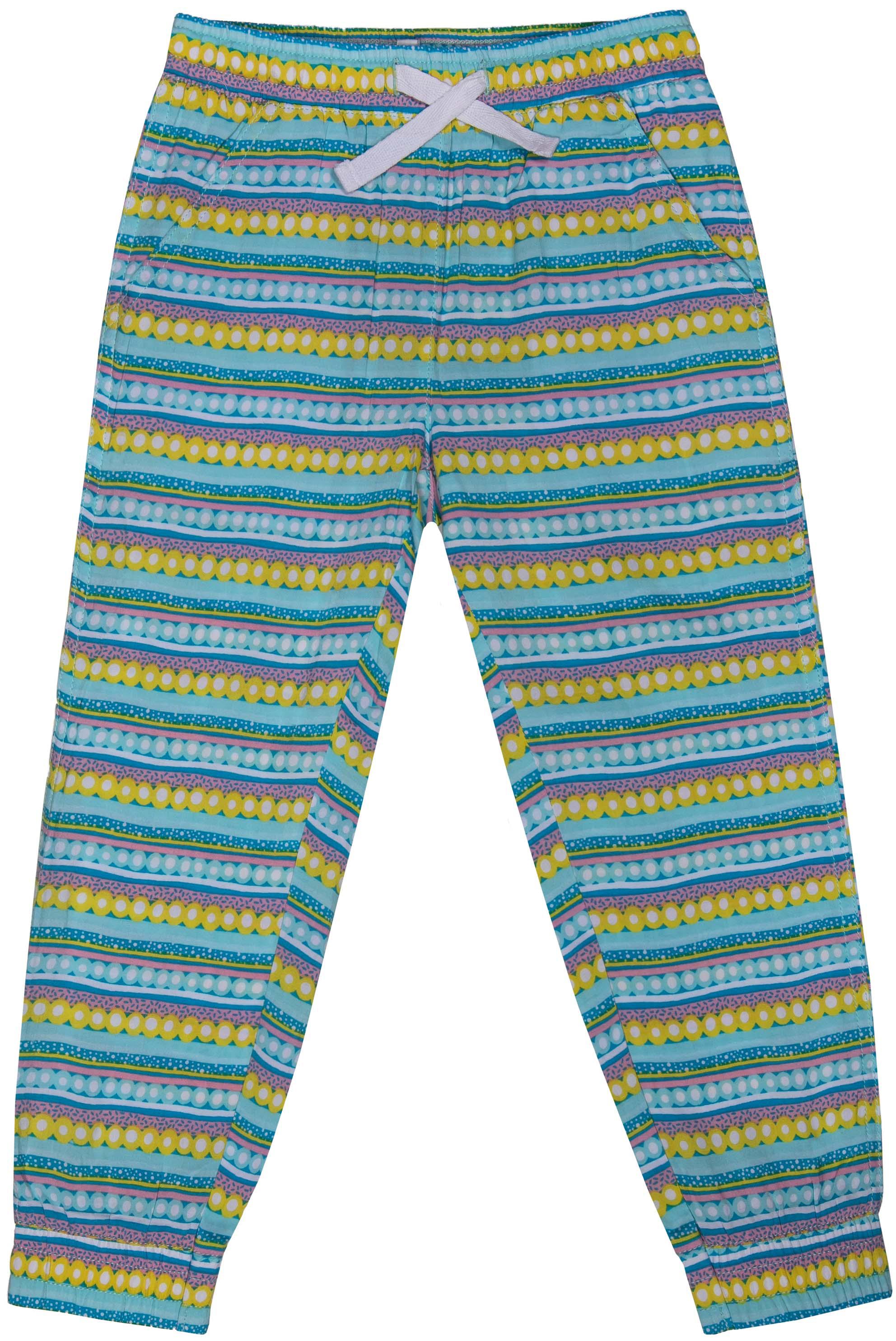 Брюки Barkito Сладкоежка-2 S18G3014W(2) брюки для девочки barkito фантазия голубые с рисунком