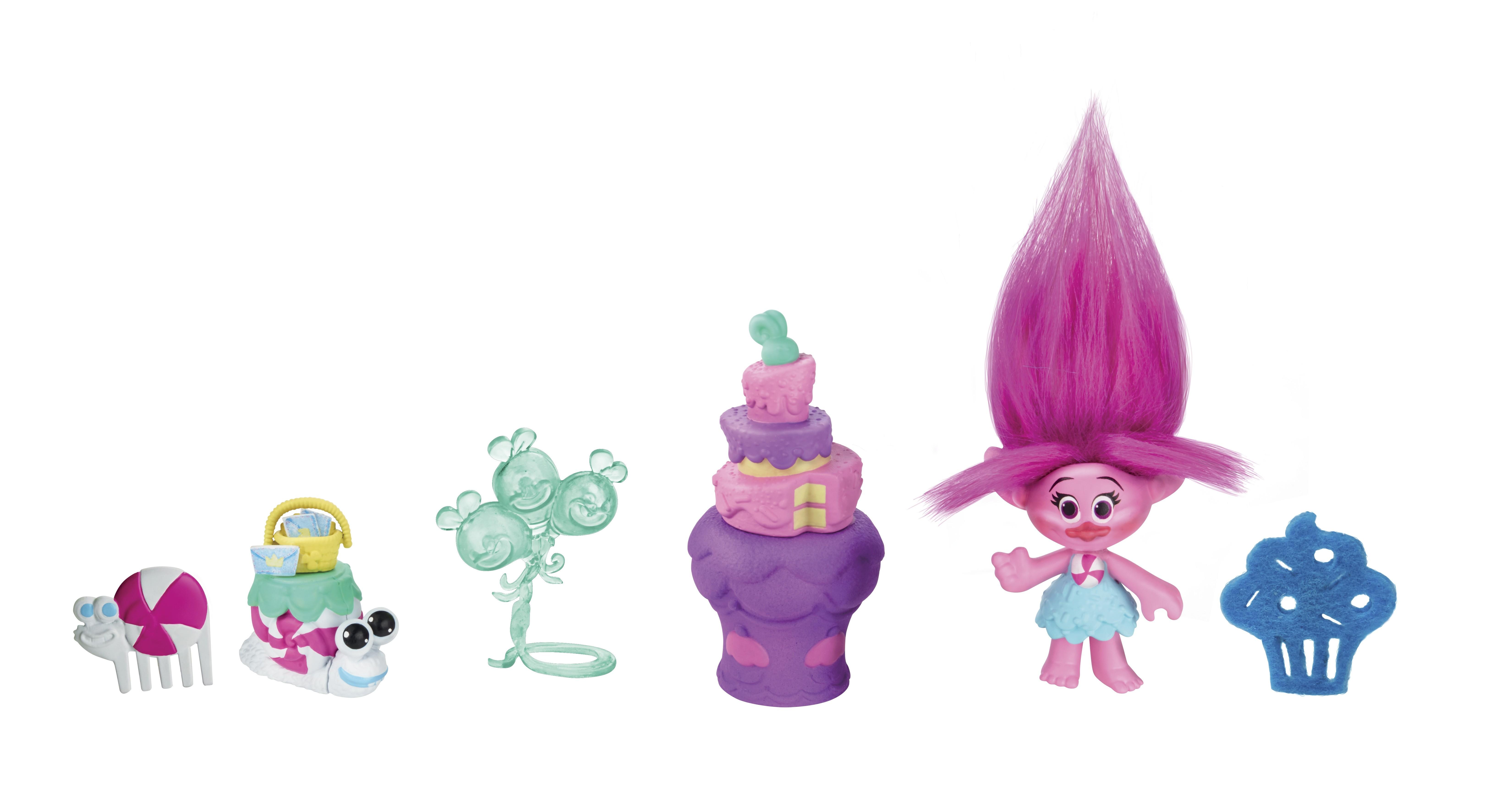 Фигурки героев мультфильмов Trolls Тролли с аксессуарами B6556EU0 trolls игровой набор тролли волшебный домик