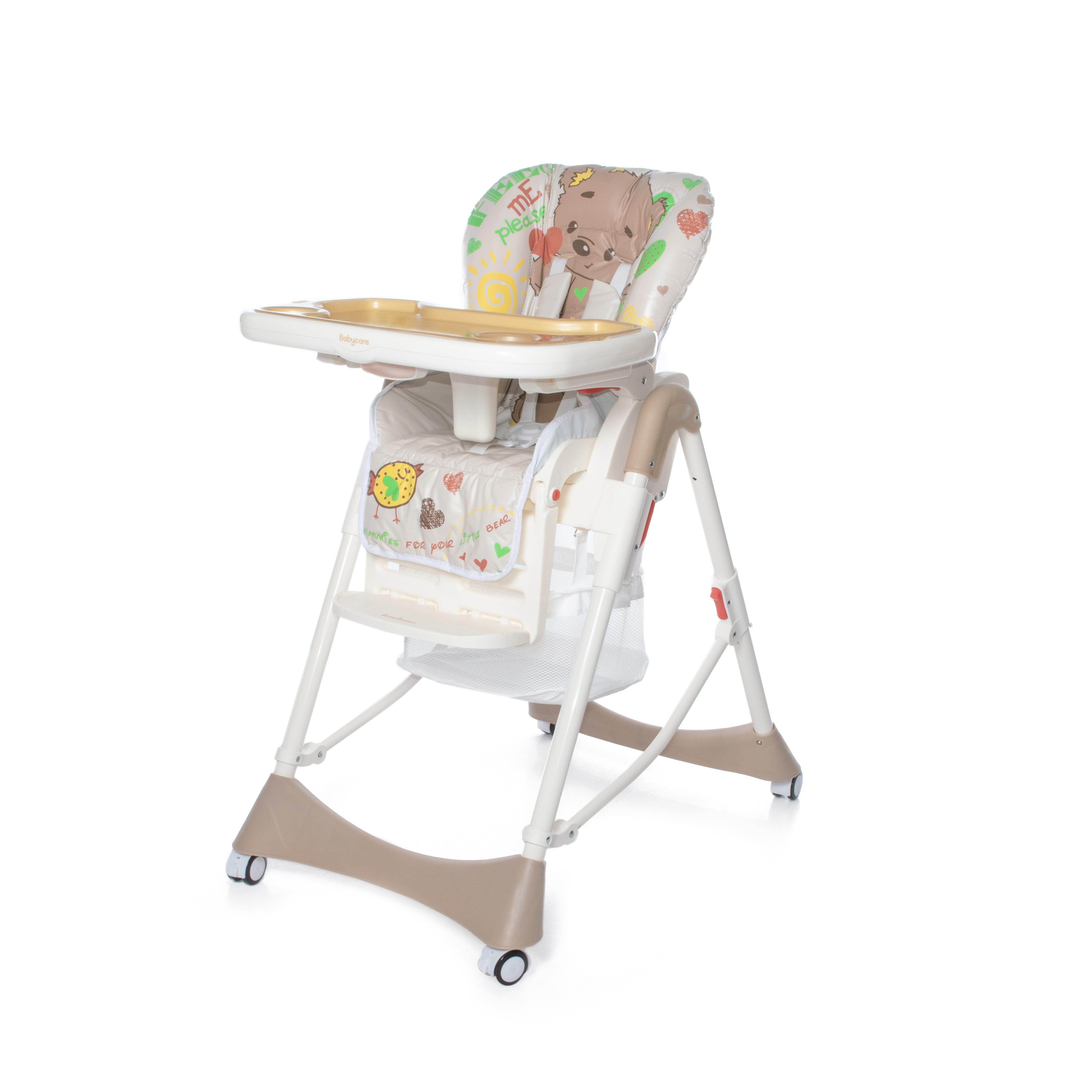 Стульчики для кормления малышей Baby Care Love Bear