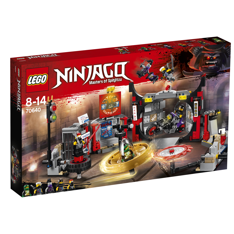 Конструктор LEGO Ninjago 70640 Штаб-квартира Сынов Гармадона констр р lego ninjago битва гармадона и мастера ву