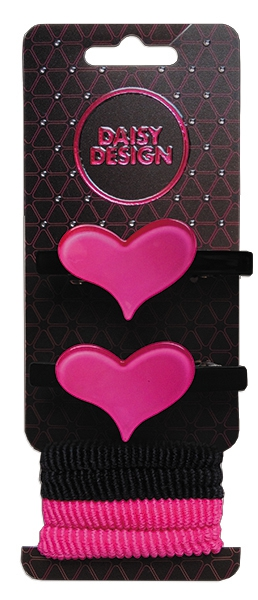 Набор аксессуаров для волос DAISY DESIGN 2 сердца
