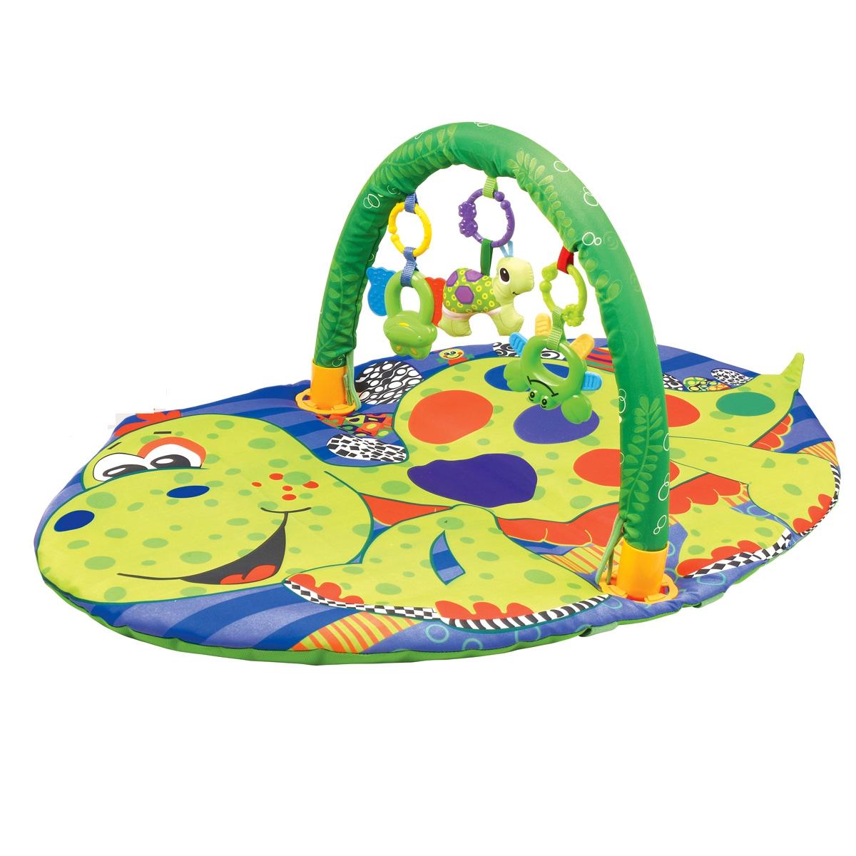 Купить Развивающий коврик, Разноцветная черепаха, 1шт., Ути Пути 49389, Китай, разноцветный
