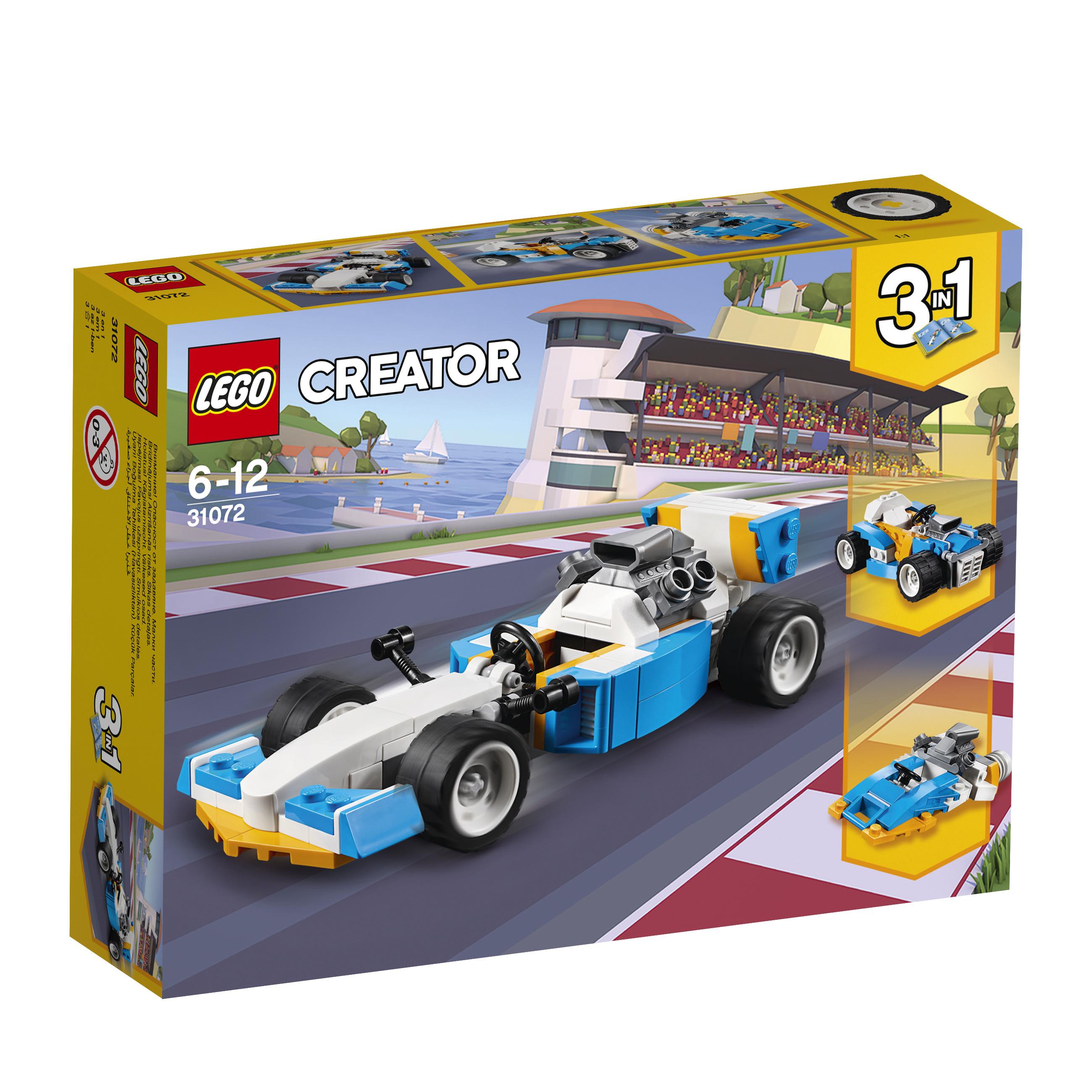 Купить LEGO, Creator 31072 Экстремальные гонки, Венгрия