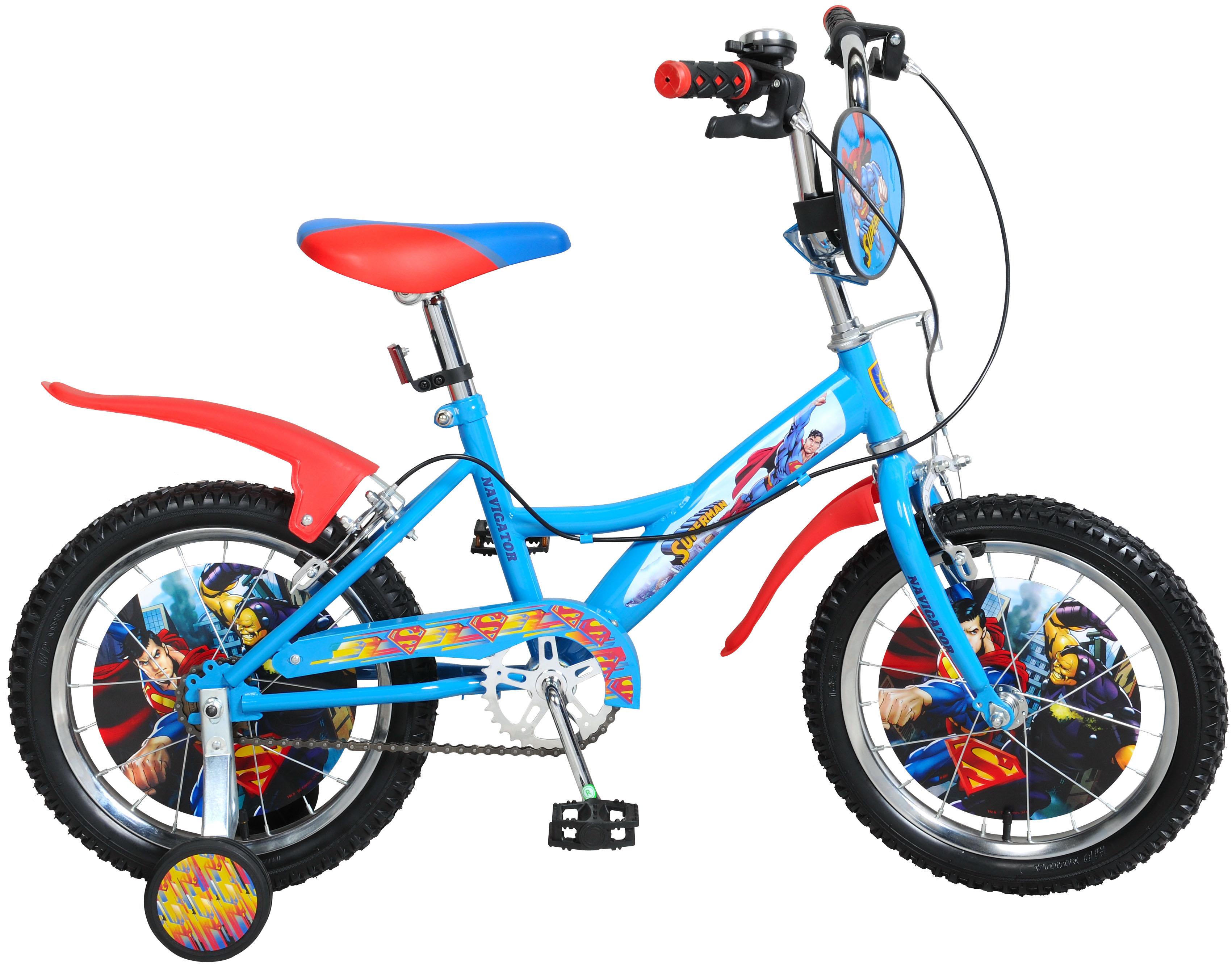 Велосипеды двухколесные Navigator Superman (ВН16121)