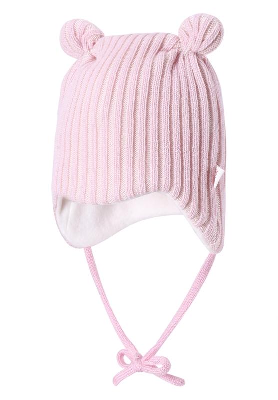 Шапка Reima Baby Beanie, Hesper pale pink головные уборы reima beanie nebula navy
