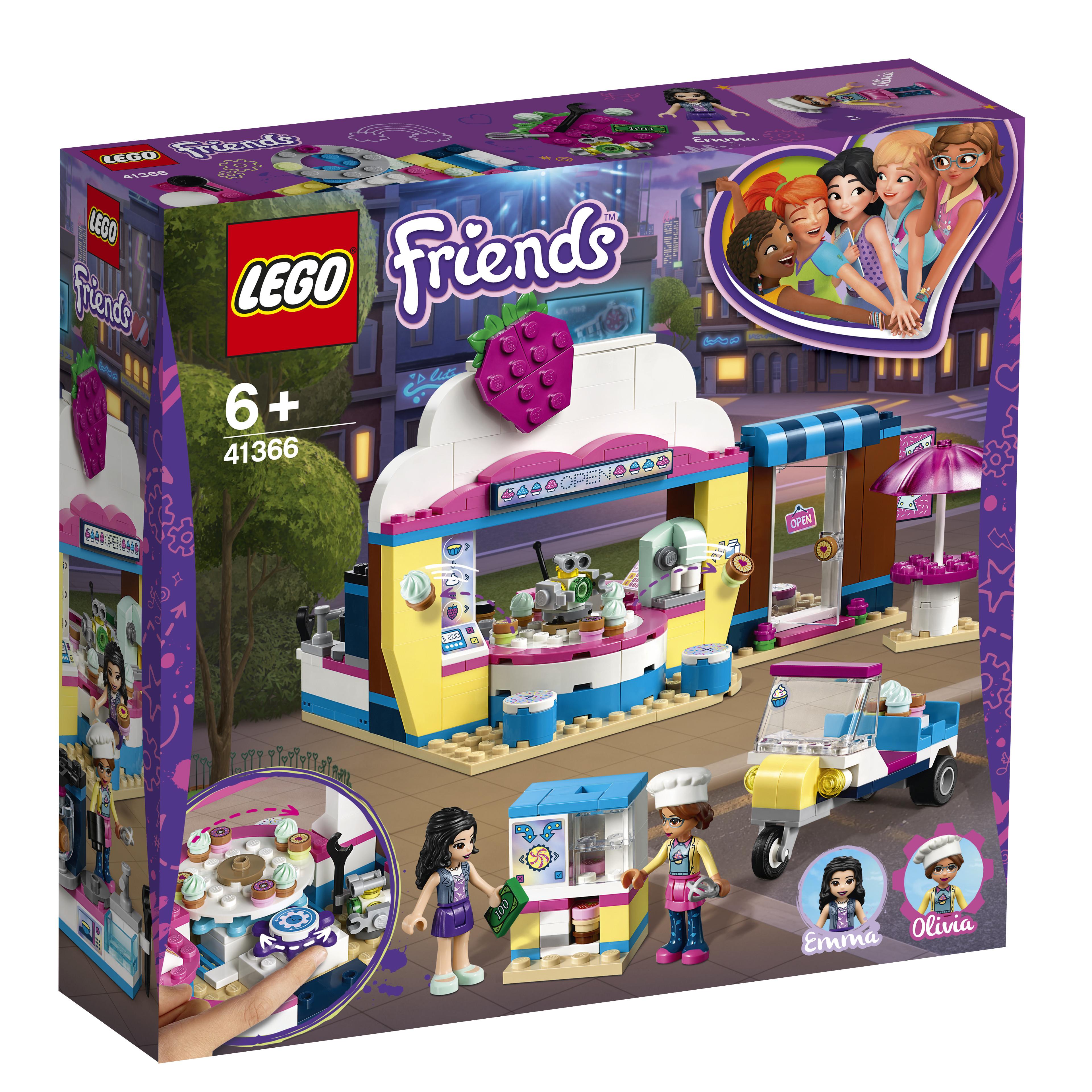 Купить LEGO, Кондитерская Оливии, Китай, разноцветный, Женский