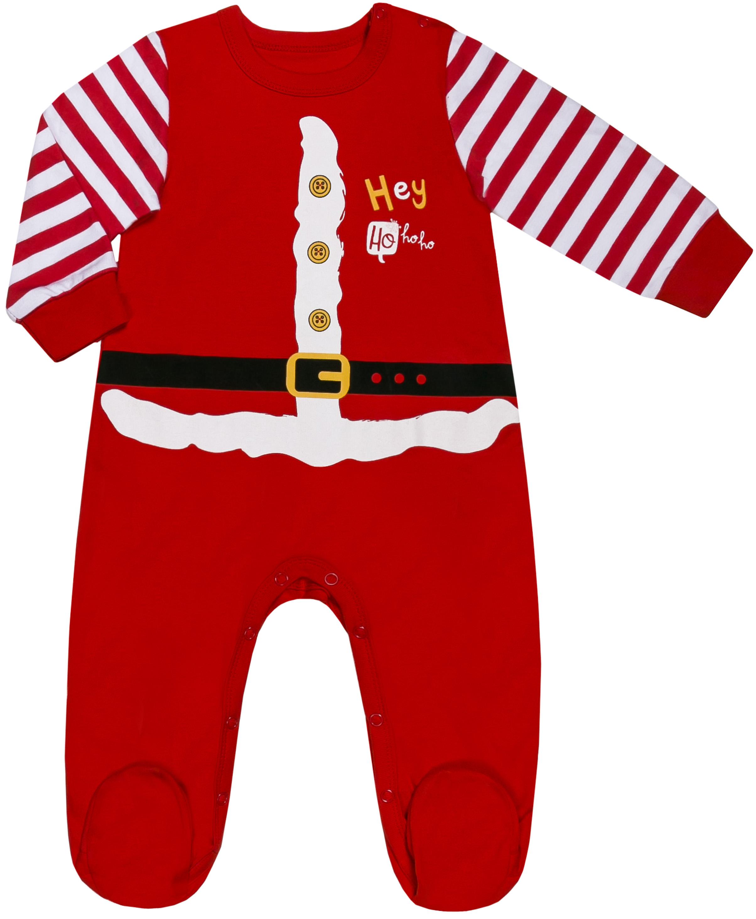 Первые вещи новорожденного Barkito Комбинезон детский Barkito Новый год, красный шапочка детская новый год barkito