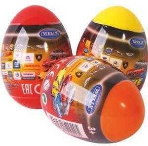 Машинки и мотоциклы Welly Модель машины Welly 1:60 в яйце в асс. игрушка в яйце bauer eggs 8 5см page 3