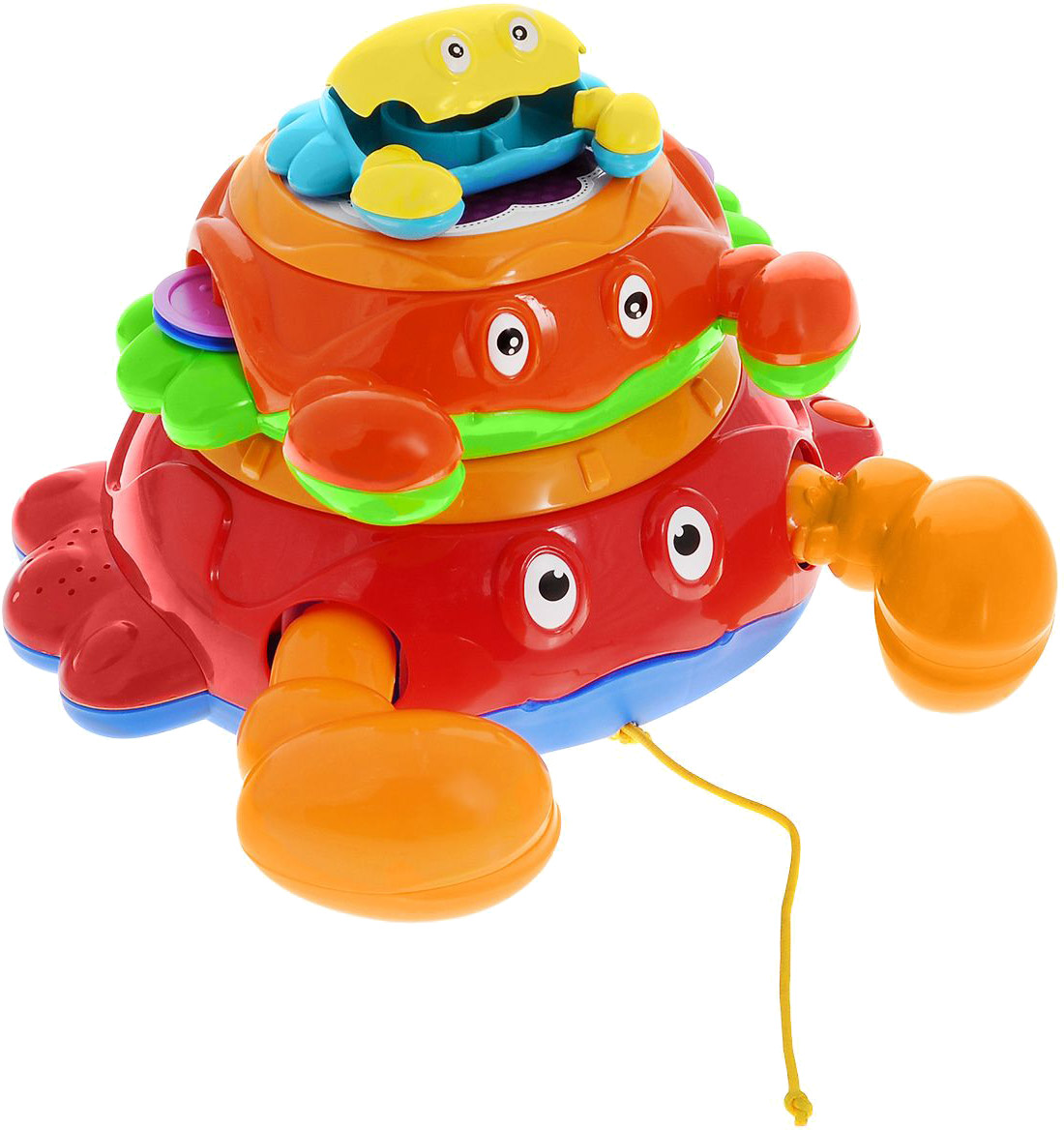 Купить Развивающая игрушка, Крабики, 1шт., Малышарики MSH0303-006, Китай, многоцветный