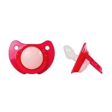 Купить Пустышка, адаптированной формы из силикона с рождения, 1шт., ПОМА 4012, Китай
